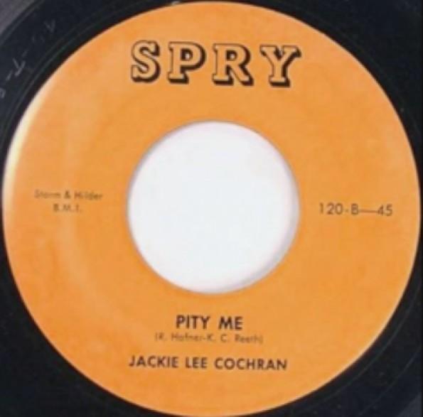 """JACKIE LEE COCHRAN """"Pity Me / I Wanna See You"""" 7"""""""