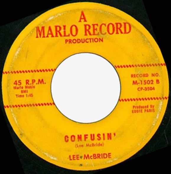 "LEE McBRIDE ""Confusin' / Honest I Do"" 7"""