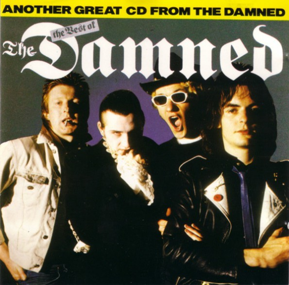 """DAMNED """"BEST OF THE DAMNED"""" CD"""
