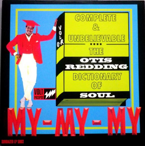 """OTIS REDDING """"The Otis Redding Dictionary Of Soul"""" LP"""