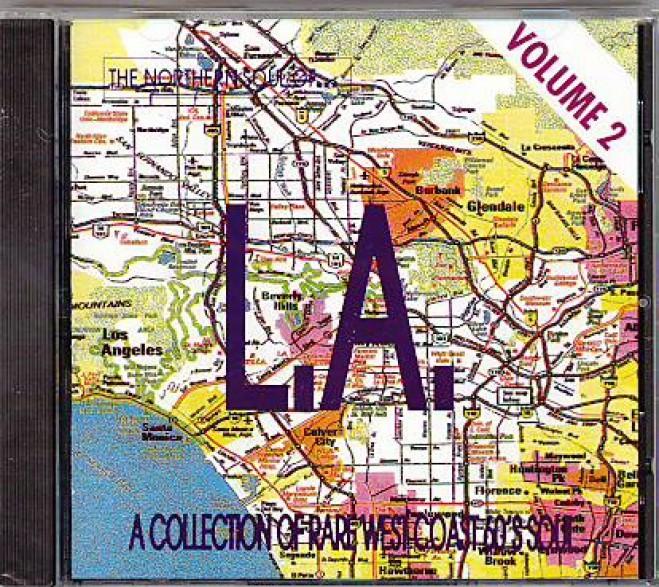 NORTHERN SOUL OF LA VOL.2 CD