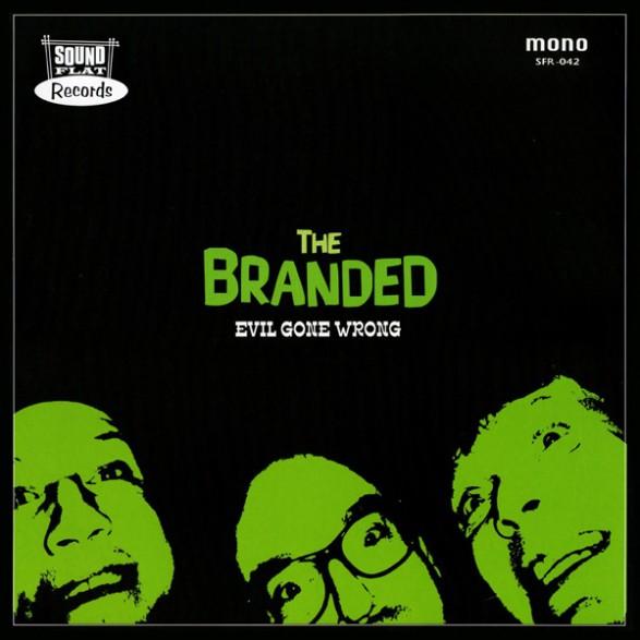 """BRANDED """"EVIL GONE WRONG"""" LP"""