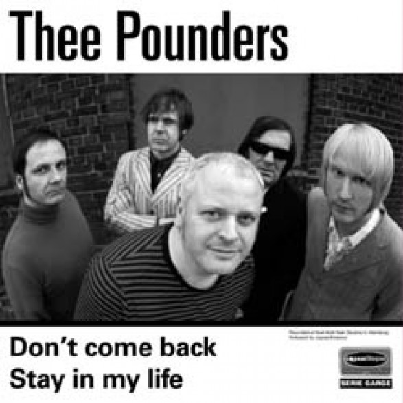 """POUNDERS """"DON'T COME BACK"""" 7"""""""