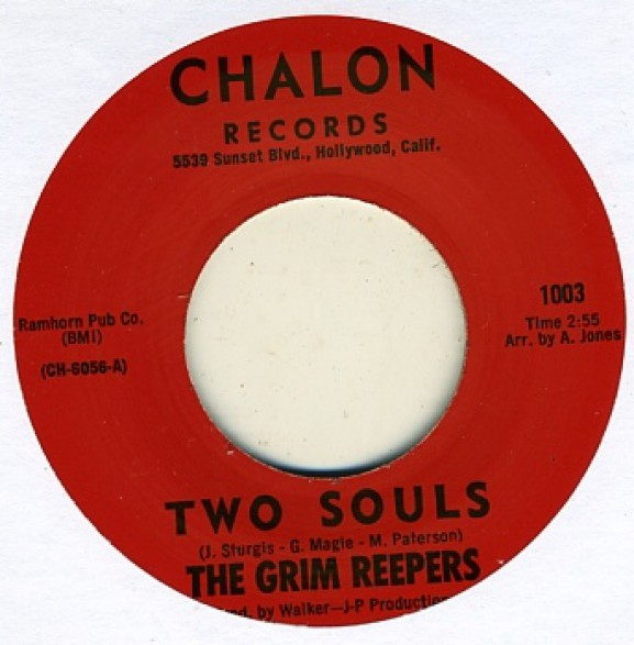 "GRIM REEPERS ""TWO SOULS / JOANNE"" 7"""