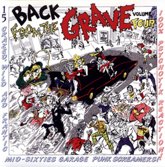 BACK FROM THE GRAVE Volume 4 LP