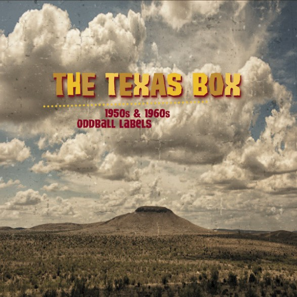 """TEXAS BOX """"1950s & 1960s Oddball Labels From The Lone Star State - 10CD+BOOK"""" CD BOX"""