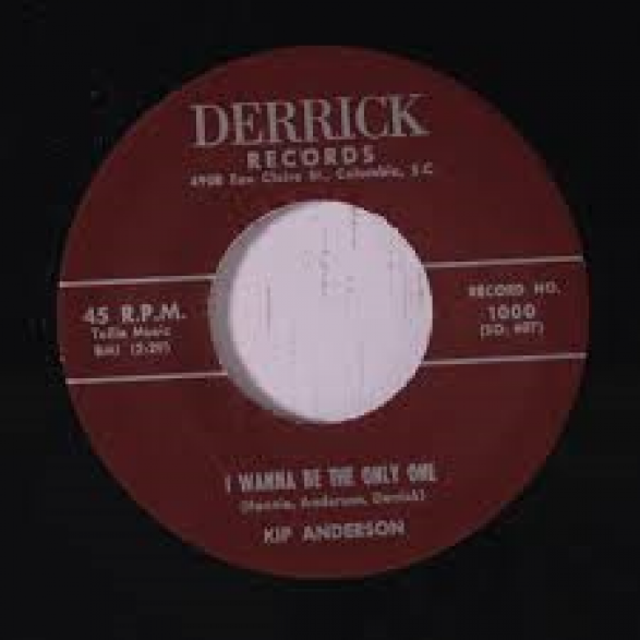 """KIP ANDERSON """"I WANNA BE THE ONLY ONE/ Sammy Johns & The Devilles """"Making Tracks"""" 7"""""""