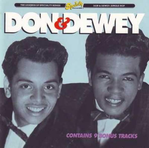 """DON & DEWEY """"JUNGLE HOP"""" CD"""