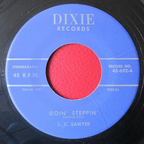 "ORANGIE RAY HUBBARD ""Sweet Love""/ J.C. SAWYER ""Goin' Steppin"" 7"""