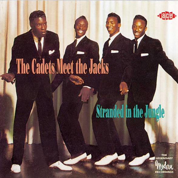 """CADETS MEET THE JACKS """"STRANDED IN THE JUNGLE"""" CD"""