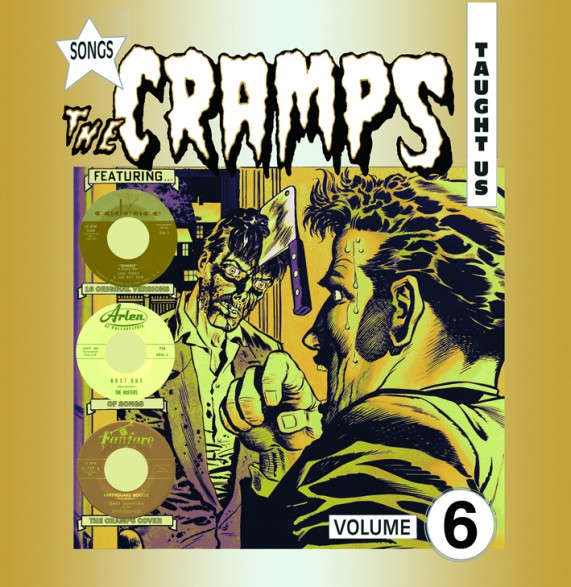 SONGS THE CRAMPS TAUGHT US VOLUME 6 LP