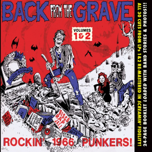 BACK FROM THE GRAVE 1 & 2 CD