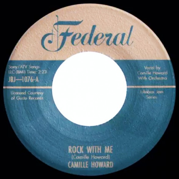 """CAMILLE HOWARD """"Rock With Me / Nasty Man"""" 7"""""""