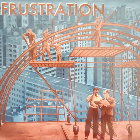 "FRUSTRATION ""Uncivilized"" LP"