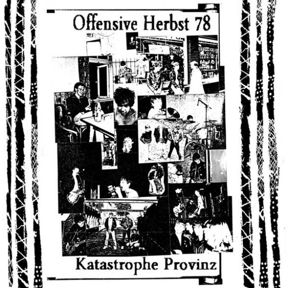"""OFFENSIVE HERBST 78 """"Katastrophe Provinz"""" LP"""