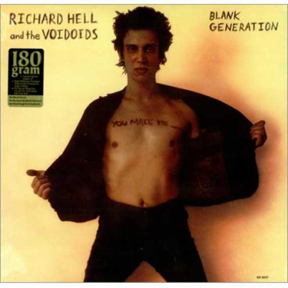 """Richard Hell And The Voidoids """"Blank Generation"""" 180gr LP"""