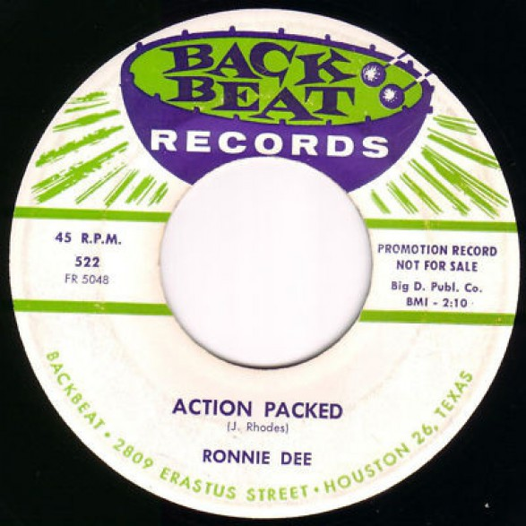 """RONNIE DEE """"Action Packed / I Make The Love"""" 7"""""""
