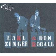 """EARL ZINGER & DON ROGALL """"In The Backroom"""" CD"""