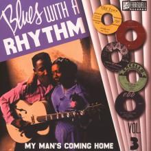 """BLUES WITH A RHYTHM Volume 3 10"""""""