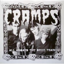 "CRAMPS ""All Aboard The Drug Train"" LP"