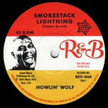 "HOWLIN WOLF ""Smokestack Lightning/ Moanin' At Midnight"" 7"""