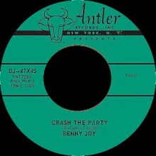 "BENNY JOY ""LITTLE RED BOOK / CRASH THE PARTY"" 7"""