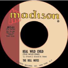 "BELL NOTES ""REAL WILD CHILD / SHORTNIN' BREAD"" 7"""
