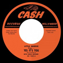 "LITTLE MARGIE ""Yes It's You"" / BIG BOY GROVES ""Another Ticket"" 7"""