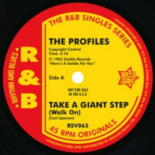 "PROFILES ""Take A Giant Step"" / JOHNNY APPALACHIAN ""Up In Smoke"" 7"""