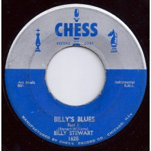 "BILLY STEWART ""BILLY'S BLUES PT. 1/ 2"" 7"""