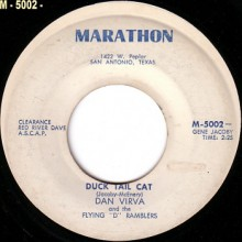 "DAN VIRVA ""Duck Tail Cat"" / LARRY NOLEN ""King Of The Ducktail Cats"" 7"""