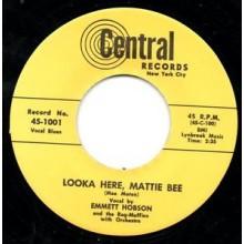 "EMMETT HOBSON / GEORGIA LANE ""LOOKA HERE MATTIE BEE"""