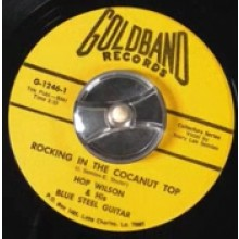 "HOP WILSON ""ROCKIN IN THE COCONUT TOP / CHICKEN STUFF"" 7"""