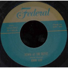"John Lee ‎""Blind's Blues / Down At The Depot"" 7"""