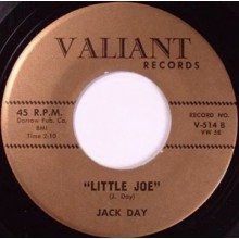 "JACK DAY ""Little Joe / Don't Cry"" 7"""