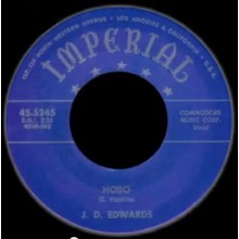 "J.D. EDWARDS ""HOBO/CRYING"" 7"""