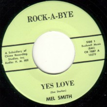 """Mel Smith/Peter Roberts & Sid Ramin & Cliff Dwellers """"Yes Love/The Ho-Ho- Laughing Monster"""" 7"""""""