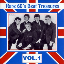 RARE 60'S BEAT TREASURES Volume ONE cd