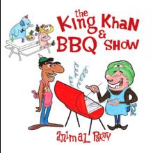 "KING KHAN & BBQ SHOW ""ANIMAL PARTY?God Of Raisins"" 7"""
