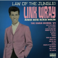 """LINK WRAY & HIS RAY MEN """"LAW OF THE JUNGLE"""" LP"""