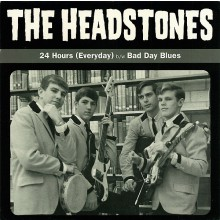 "HEADSTONES ""24 HOURS/BAD DAY BLUES"" 7"""