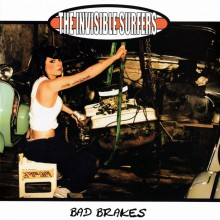 """INVISIBLE SURFERS """"BAD BRAKES"""" LP"""