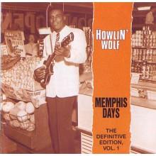 "HOWLIN WOLF ""MEMPHIS DAYS DEFINITIVE Volume ONE"" cd"