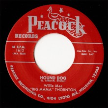 "BIG MAMA THORNTON ""Hound Dog / Rock A Bye Baby"" 7"""