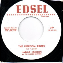 "Harold Jackson & The Jackson Brothers ""The Freedom Riders/Travelin'"" 7"""