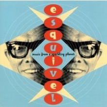 """ESQUIVEL """"MUSIC FROM A SPARKLING PLANET"""" CD"""