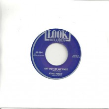 "KING PERRY ""GET OUT OF MY FACE/Til You're In My Arms Again"" 7"""