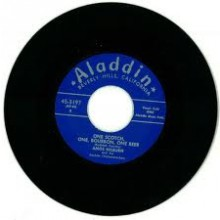 "AMOS MILBURN ""CHICKEN SHACK BOOGIE/ ONE SCOTCH, ONE BOURBON, ONE BEER"" 7"""