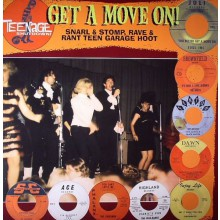"""TEENAGE SHUTDOWN """"YOU BETTER GET A MOVE ON"""" LP"""