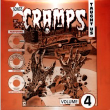 SONGS THE CRAMPS TAUGHT US VOLUME 4 LP